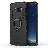 Чохол Ring Armor для Samsung Galaxy S8+ SM-G955 Чорний