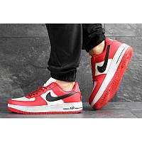 befdba05 Мужские кроссовки Nike Air Force 1 Low NBA красные с белым р.41 Акция -