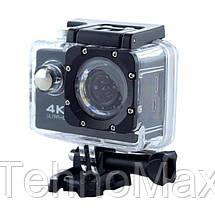 Экшн камера S2 Wi Fi waterprof 4K (7002) DVR SPORT, фото 3