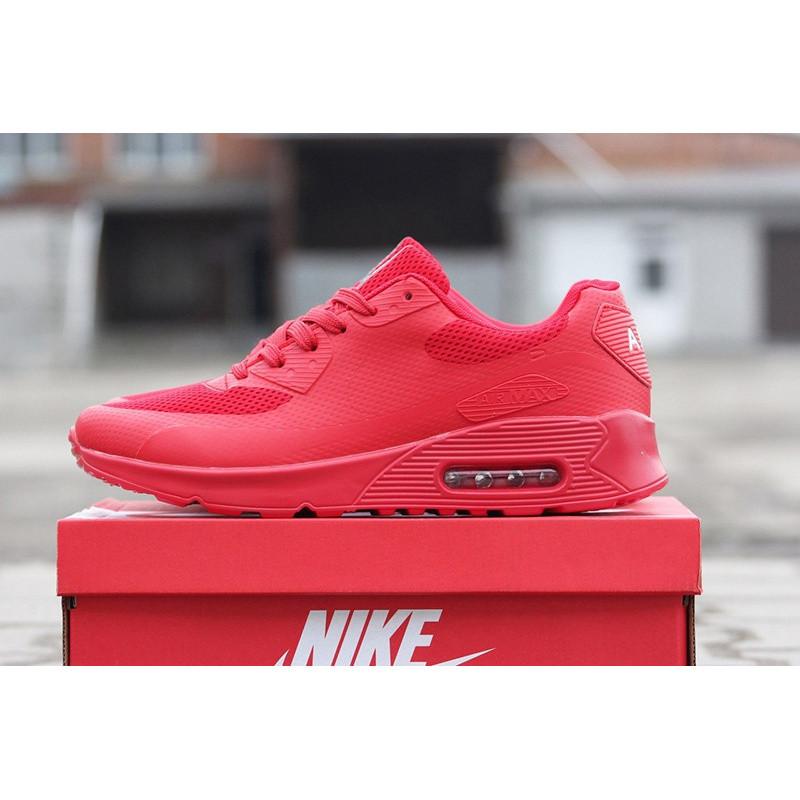 9947f339 Мужские Кроссовки Nike Air Max 90 Hyperfuse Красные Р.43 Акция -51 ...