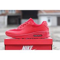 Мужские кроссовки Nike Air Max 90 Hyperfuse красные р.44 Акция -51%!
