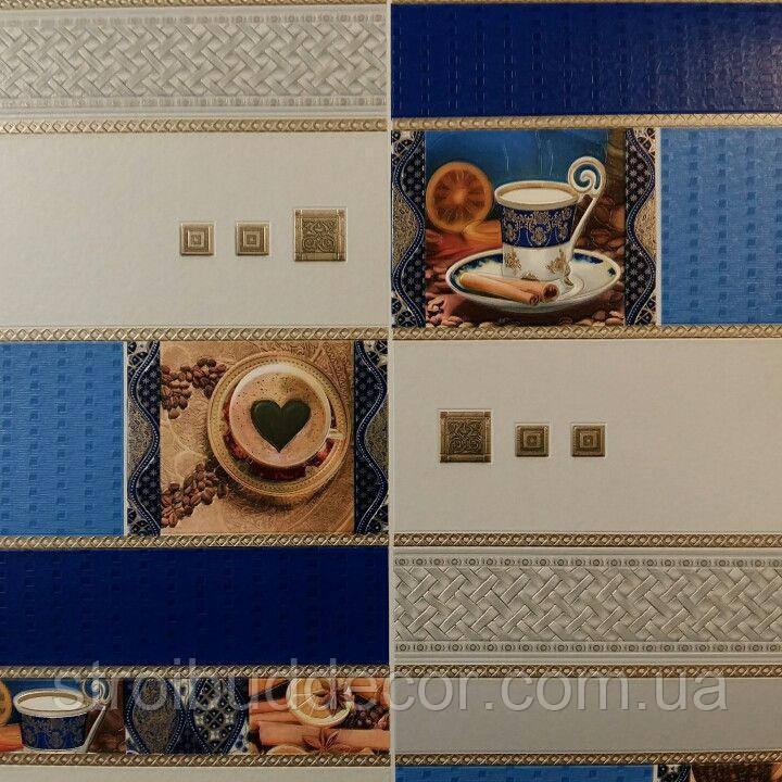 Виниловые обои на бумажной основе 0,53*10,05 Кухня