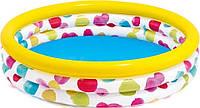 Детский надувной бассейн Геометрия Intex 58439