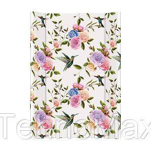 Пеленатор Ceba baby Flora Fauna Flores 50*70