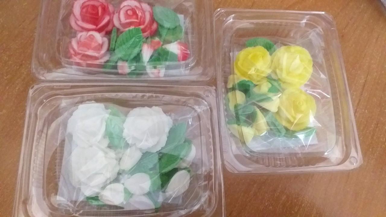Украшения Розы 18 штук