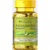 Антиоксиданты Puritans Pride Astaxanthin 10 mg, 30 гелевых капсул