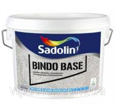 Sadolin BINDO BASE 10 л Белый BW водорастворимая грунт-краска для внутренних работ