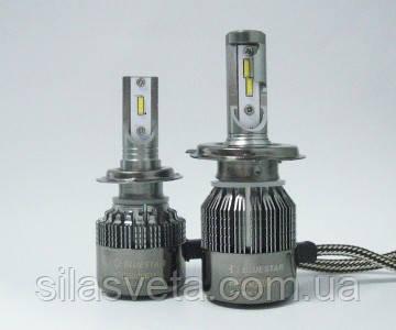 """Светодиодные лампы """" BLUESTAR"""" LED (H11)(5500K)(12-24V)"""