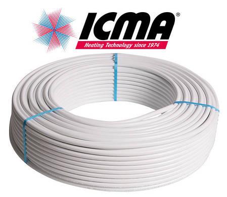 Металлопластиковая труба 26х3,0 ICMA P197 (Италия) д/воды и отопления, фото 2