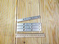 Пластина скрытого монтажа, Крепеж Змейка для фасадной, террасной доски 140х15х2 без упора, фото 1