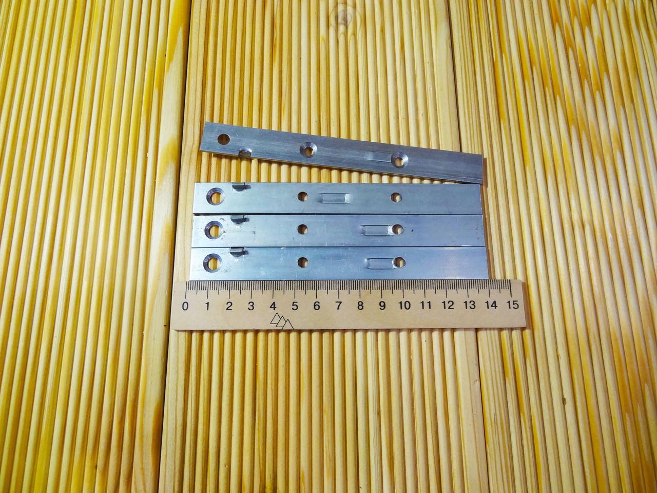 Кріплення для террасної дошки приховане 140х15х2 с упором
