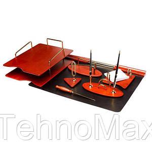 Настольный набор для руководителя BST 200002 64*45 см коричневый Хитрый Лис