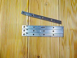Скрытый крепеж (змейка) 185х15х2мм с упором для планкена и террасной доски