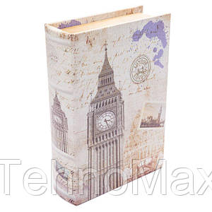 Шкатулка книга BST 490171 26х18х6 см Лондон средняя