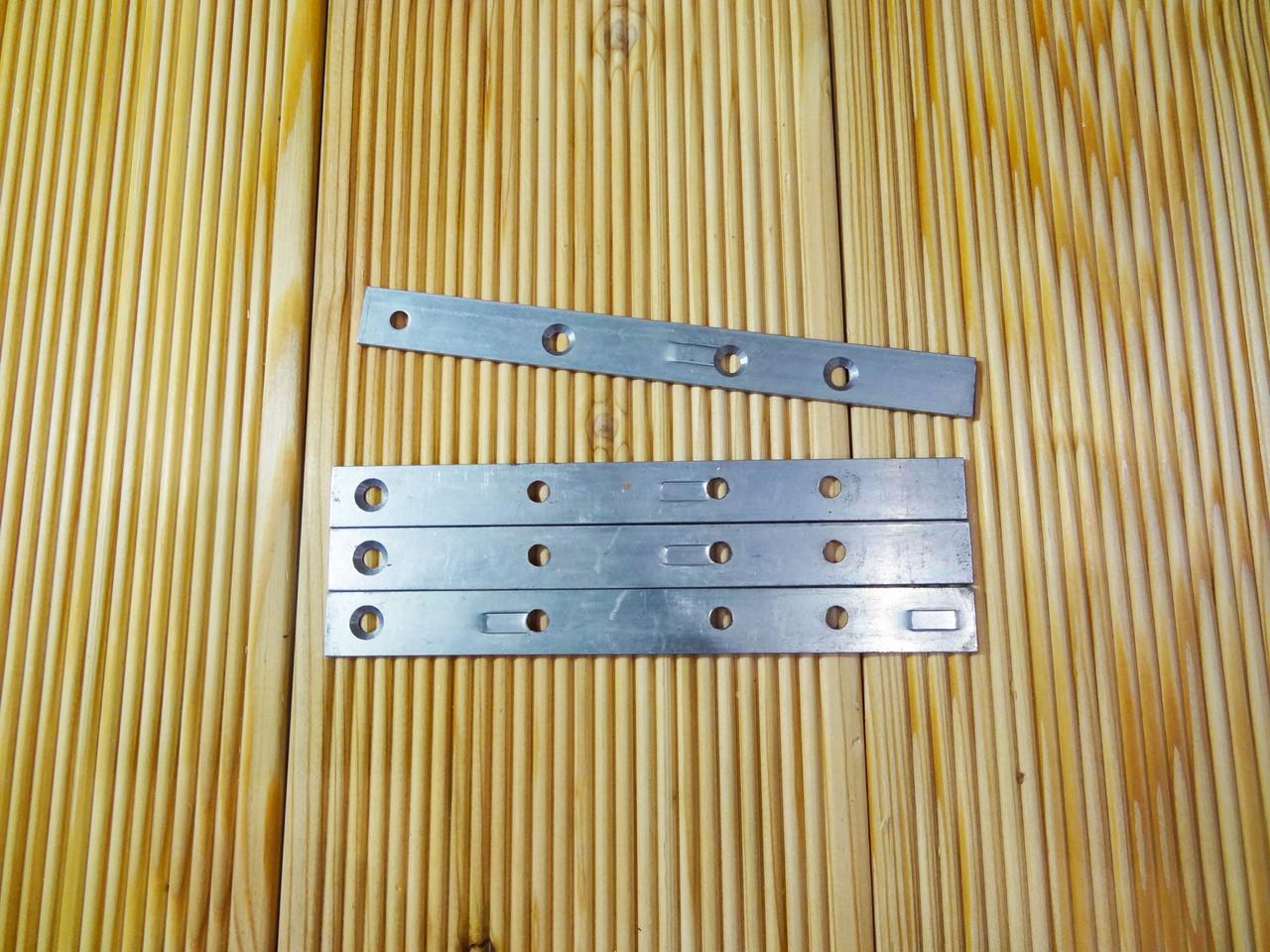 Пластина скрытого монтажа, Крепеж для фасада, террасы, палубы, планкена 160х15 без стопора