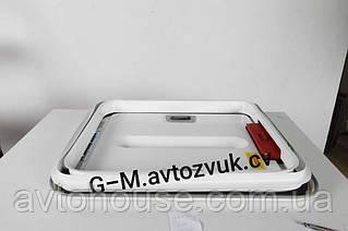 Автомобильный люк 50×65 металический с аварийным выходом, Турция