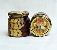 Мікс горіхів з медом акації, 0,2л