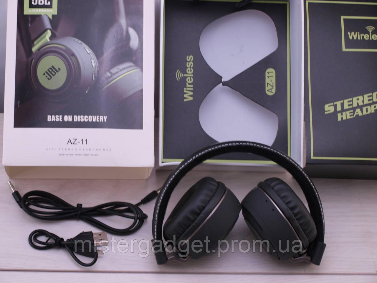Беспроводные наушники AZ-11 Wireless с Bluetooth