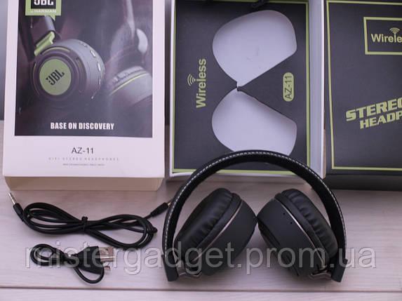 Беспроводные наушники AZ-11 Wireless с Bluetooth, фото 2