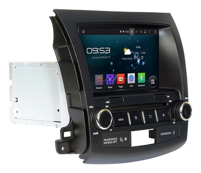 """Оригинальная штатная магнитола Mitsubishi OUTLANDER XL AHR-6181 Android 5.1 мультимедийная 8"""""""