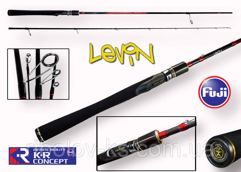 "Спиннинг Crazy Fish Levin CFL-7'1""-ML-T (5-21g 215cm 7'1""118.6g)"
