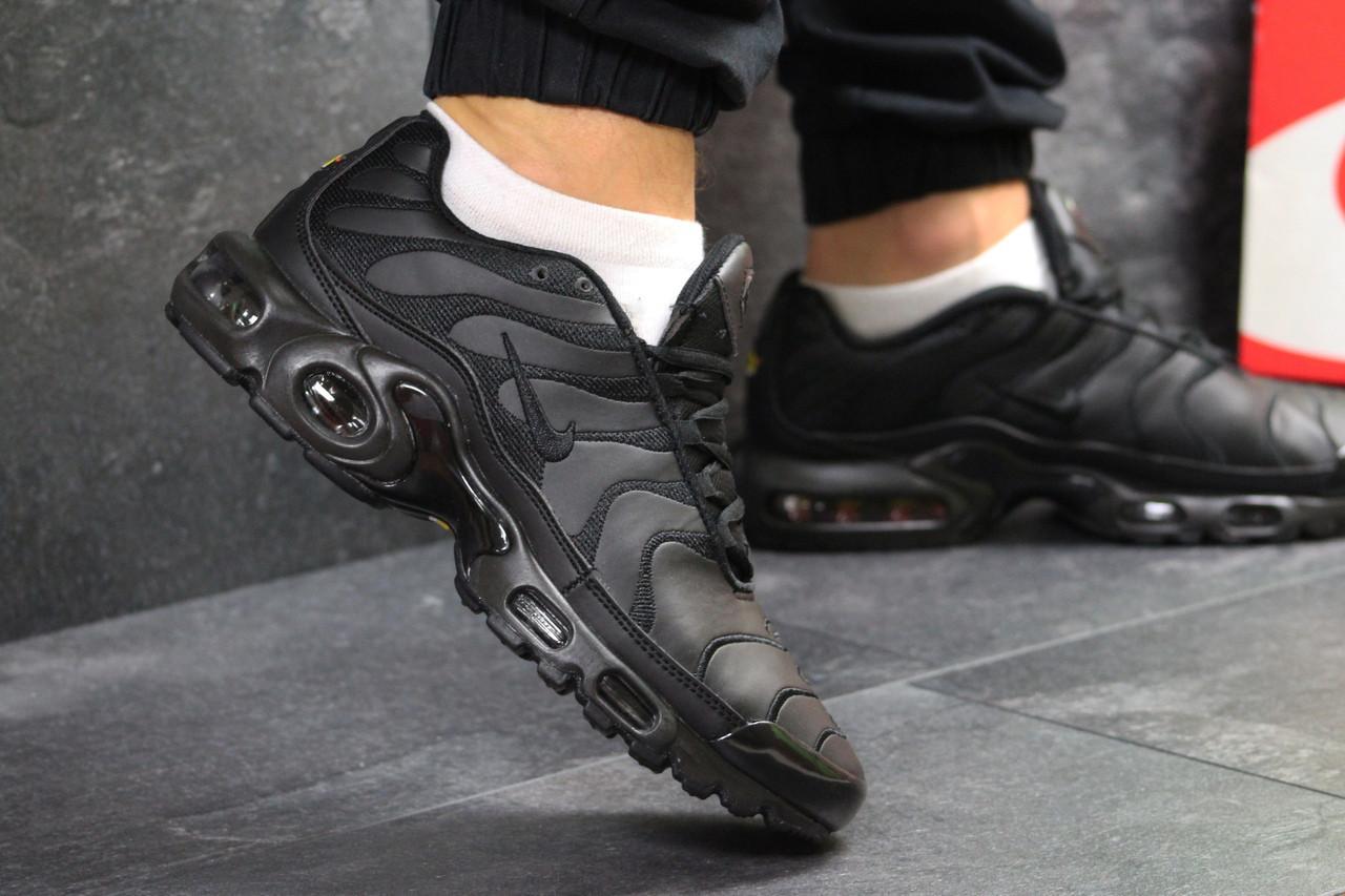 22fcbb6250e75f Мужские кроссовки в стиле Nike Air Max 95 TN Plus Black, черные - Walk в