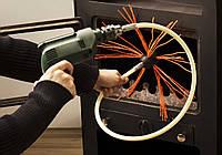 Роторный набор для чистки дымохода TОРНАДО Hansa (под дрель)