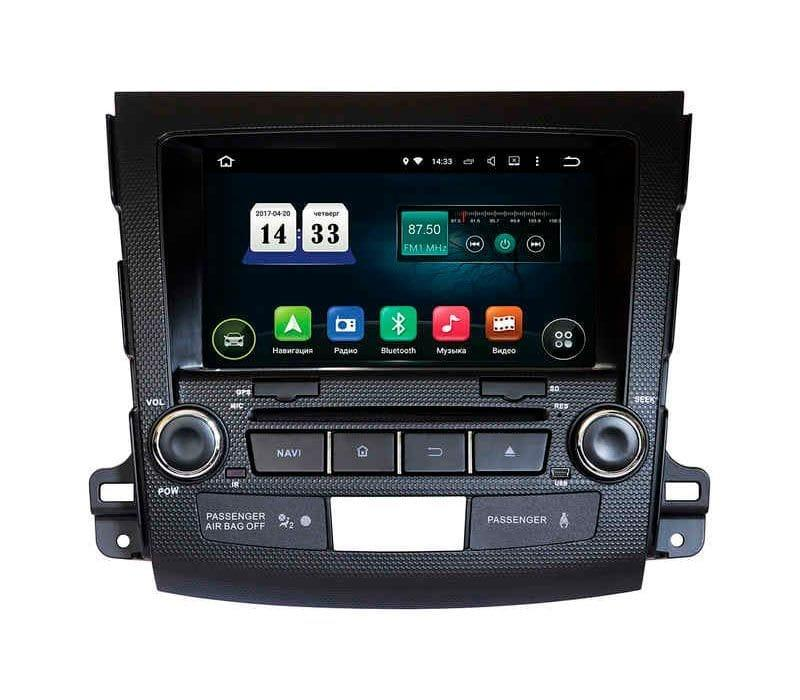Штатна автомагнітола Incar TSA-6181 Mitsubishi Outlander XL Android 8 без підтримки Rockford
