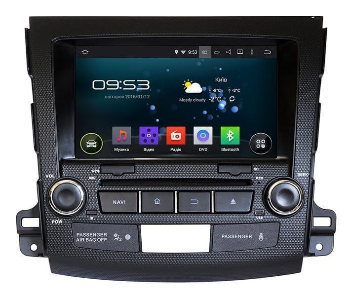 Штатная магнитола  Mitsubishi OUTLANDER XL AHR-6181 ROCKFORD Android 5.1 адаптер усилителя