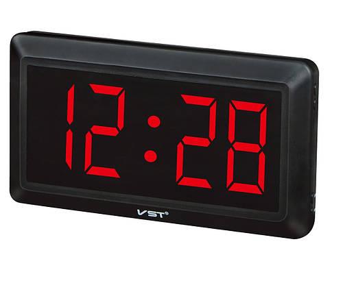Часы Электронные настенные 780-1 (красные), фото 2