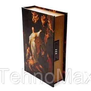 """Книга сейф тайник для денег BST 480022 27×19×7 см разноцветная """"Фемида"""""""