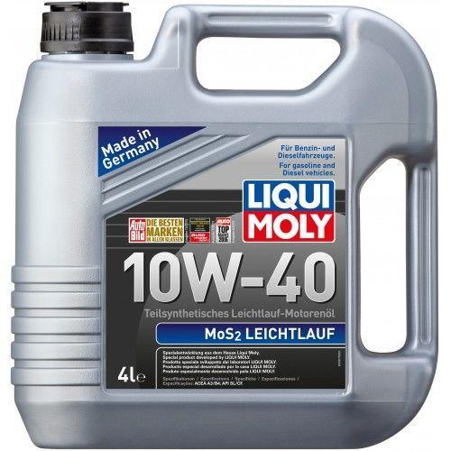 Масло моторное LIQUI MOLY MoS2 Leichtlauf 10W-40 1л