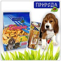 """""""Сырный коктейль"""" - десерт для собак всех пород в виде печенья."""