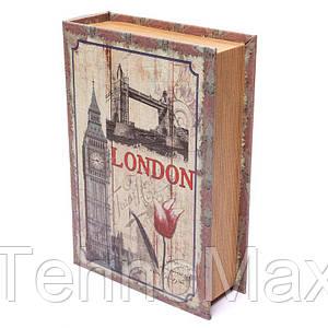 Шкатулка книга BST 490200 20×13×5 см малая