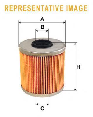 Фильтр топливный WIX Filters WF8166 - FN PM936