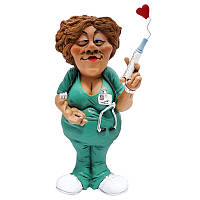 Статуэтка медсестра BST 550087 27 см разноцветная