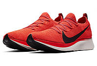 Мужские кроссовки Nike Zoom Fly Flyknit Red Реплика, фото 1