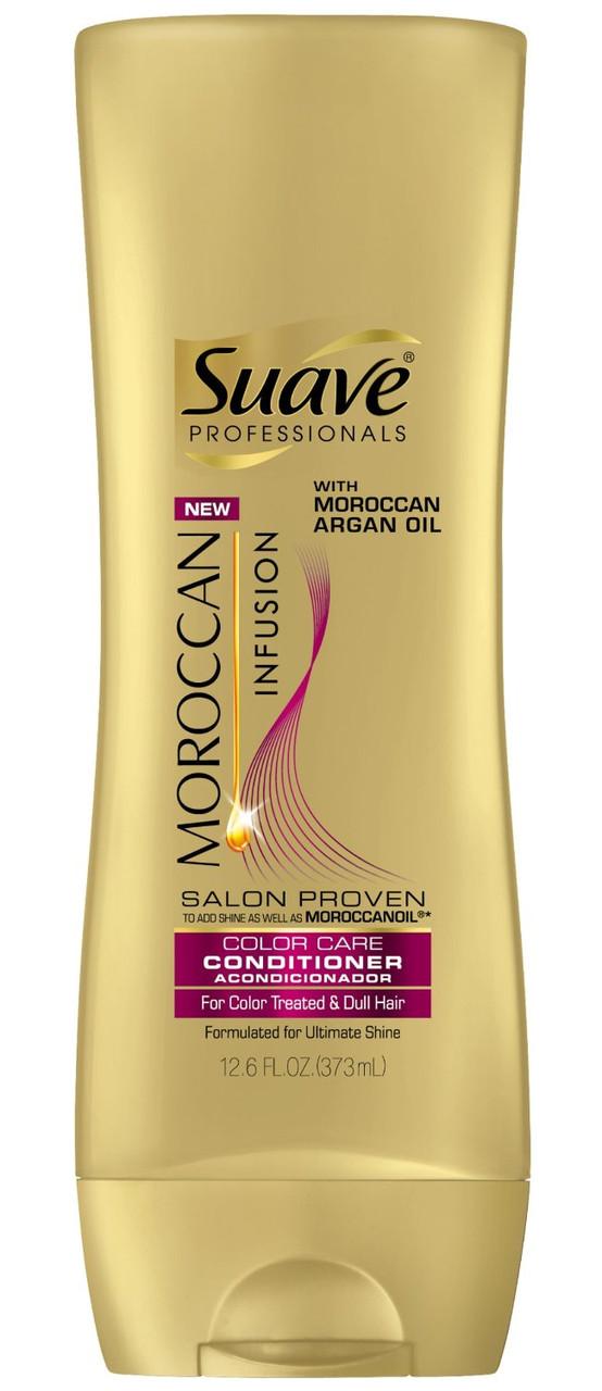 """Профессиональный кондиционер для волос с марокканским аргановым маслом Suave """"Moroccan Infusion Color Care"""""""