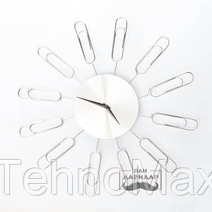 Фоторамка-часы Скрепка