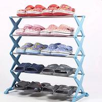 Полка для обуви 15 пар Shoe Rack, обувная стойка для обуви, органайзер для обуви
