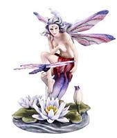 Статуэтка Veronese Юная бабочка на листке (73243)