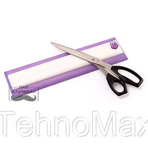 Магнитная планка для ножей сиреневая для ножниц Совёнок