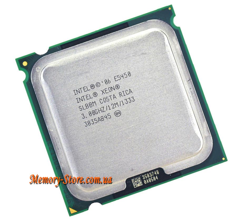 Процессор Intel Xeon E5450 4-ядра 3.0GHz SLBBM E0 для LGA775 (Q9650) + термопаста GD900