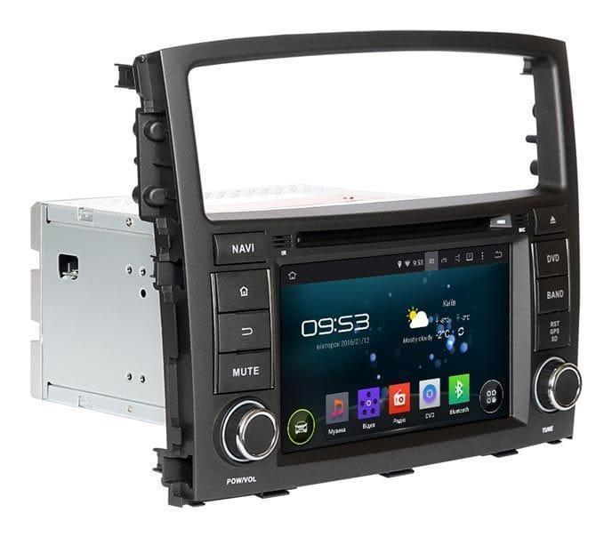 """Магнітола для Incar AHR-6182 Mitsubishi Pajero 4 на Android 5 підтримка Rockford екран 7"""""""