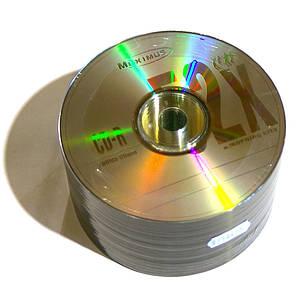 Диски CD-R 50 шт. Maximus, 700Mb, 52x, Bulk Box