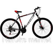 """Велосипед Titan Expert 29"""" (black-red-white)"""