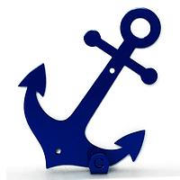 Вешалка настенная Крючок Glozis Anchor H-036 12 х 11 см