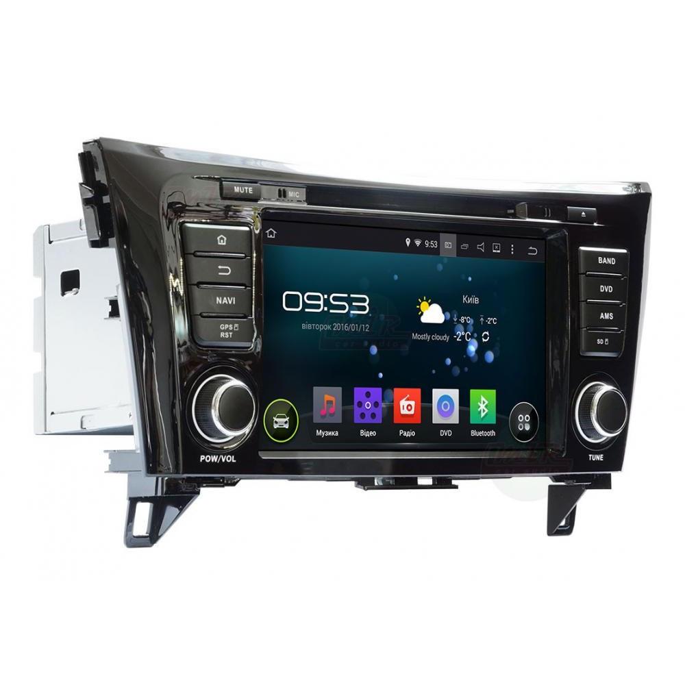"""Штатное головное устройство Nissan Qashqai 2014 AHR-6282 экран 8"""" магнитола Android 4.4.4"""