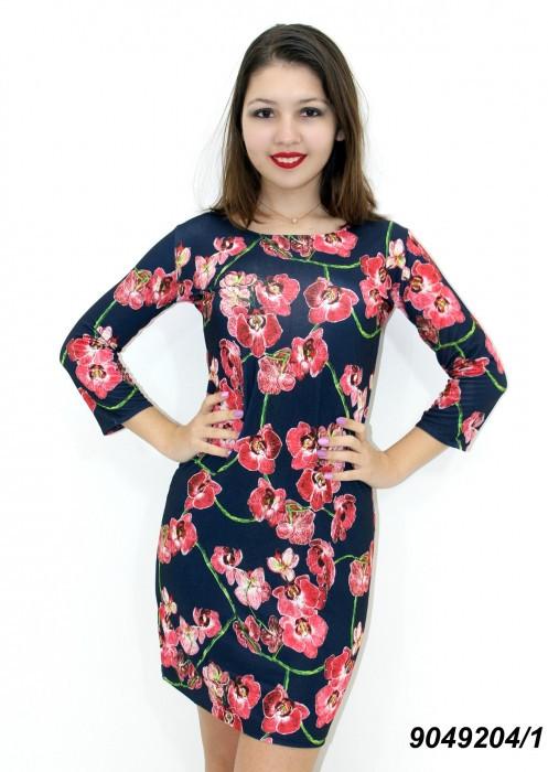 Летнее трикотажное платье-лучшая цена!  42,44,46,48