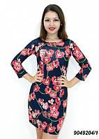 Летнее трикотажное платье-лучшая цена!  42,44,46,48, фото 1